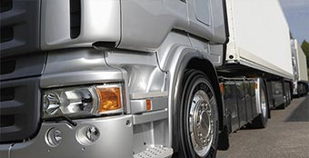 High quality tires for large commercial truck.