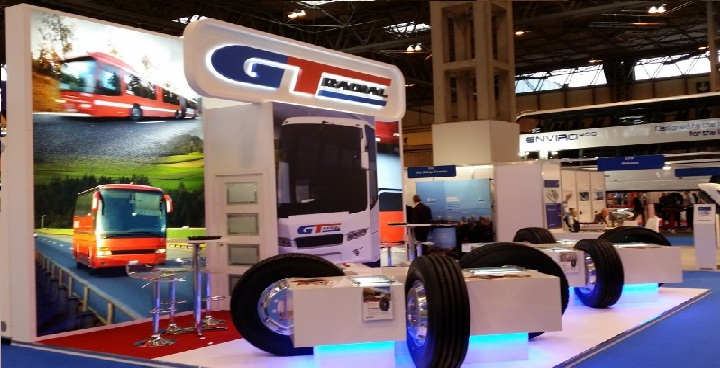 GT Radial makes debut Europe Bus Expo appearance