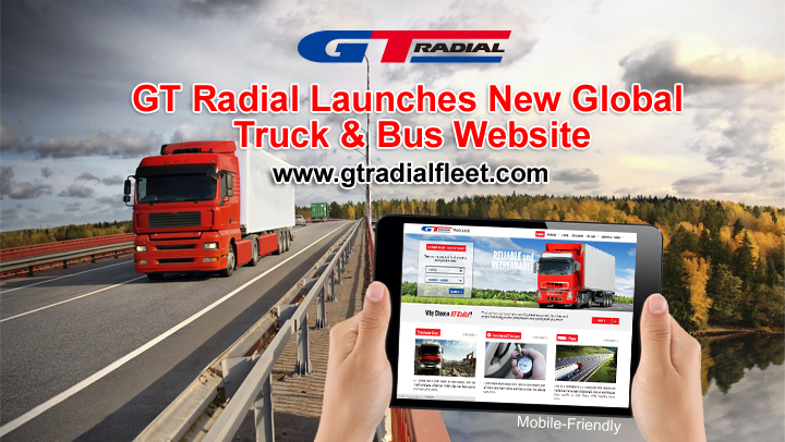GT Radial Launches New Global Truck & Bus Website for 2015