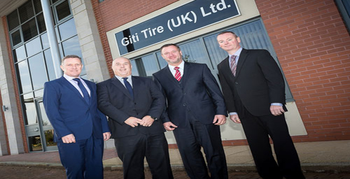 Giti Tire prepares for further expansion with new UK office