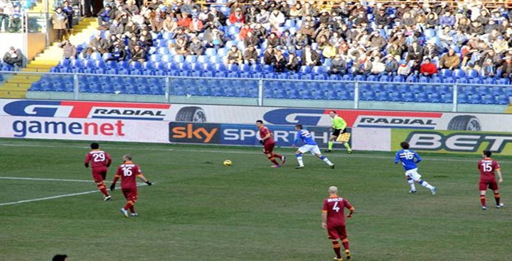 GT Radial Renews Its Presence For 2013 Soccer Stadiums In Italy