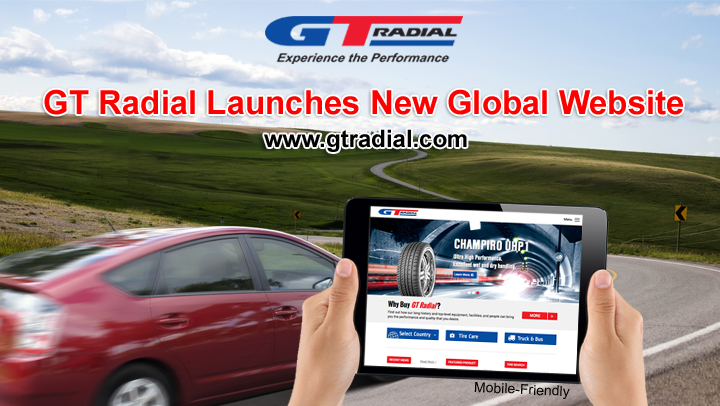 GT Radial Launches New Global Website