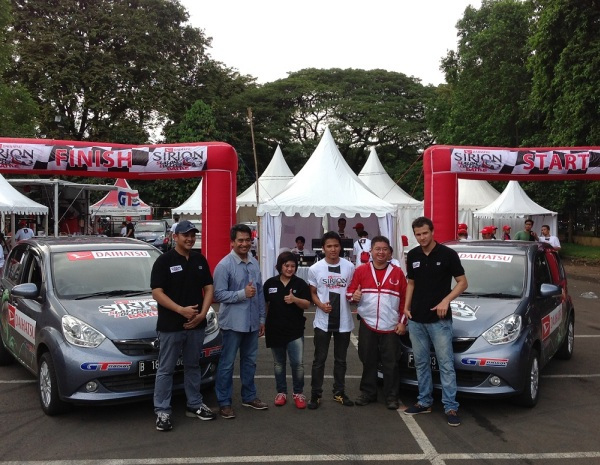 GT Radial Back to Support the Daihatsu Sirion Time Battle