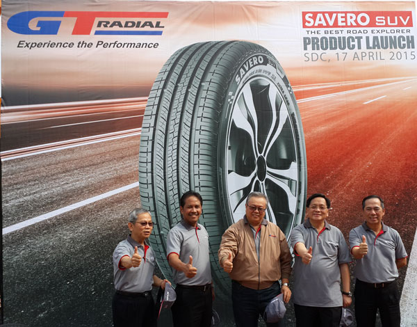 GT RADIAL SAVERO SUV The Newest Tire from the Best and the Most Complete 4x4/SUV Tire Producer in Indonesia