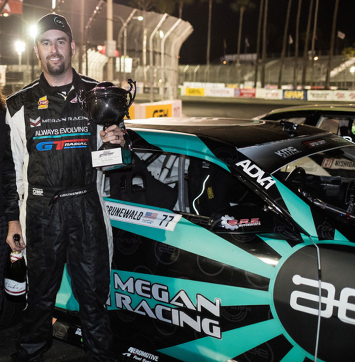 Conrad Grunewald: Victory at KMC Super Drift Challenge at Long Beach