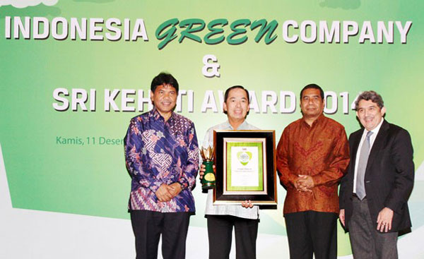 Indonesia Green Company and SRI-KEHATI Award 2014