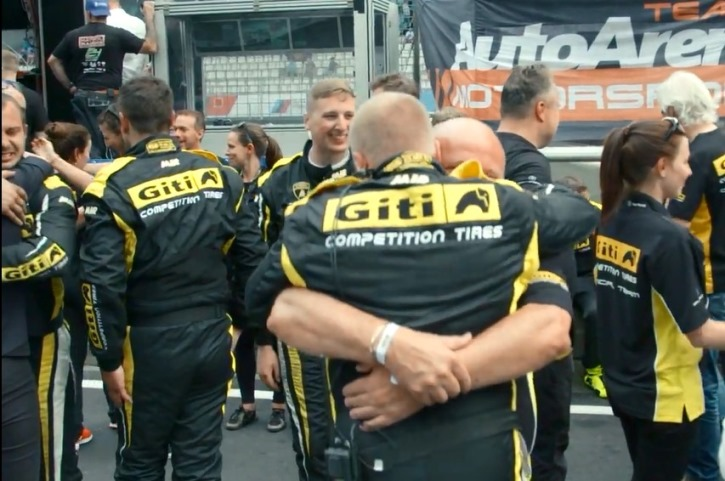 Giti Tire Places 2nd in Class in Debut at Legendary 24 Hours Nürburgring Race
