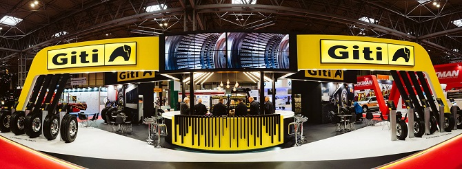 Giti Tire Draws Crowds and Exposure at Major Europe and Middle East Exhibitions
