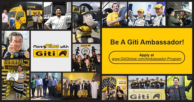 Giti Introduces Ambassador Program for Passionate Drivers