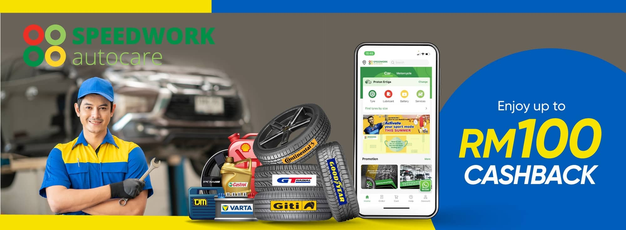 Go Cashless, Save $ and Stay safe by using Speedwork Autocare