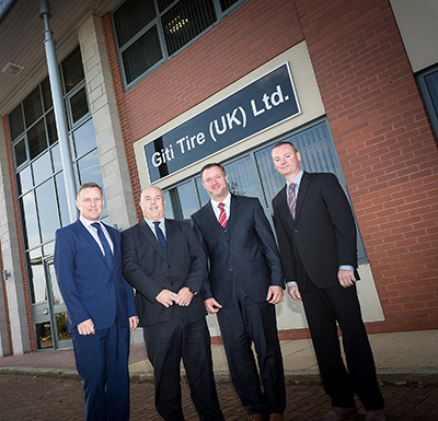 Giti Tire prepares for further expansion with new UK office <br>