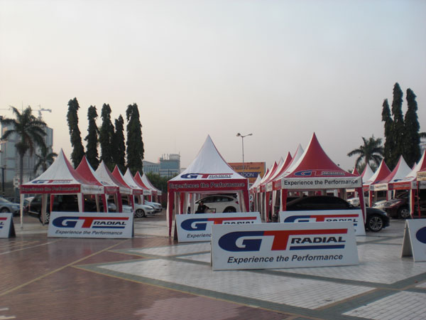 GT Radial Present at IIMS 2014, Diverse Entertainment and Games With Million Rupiah Prizes