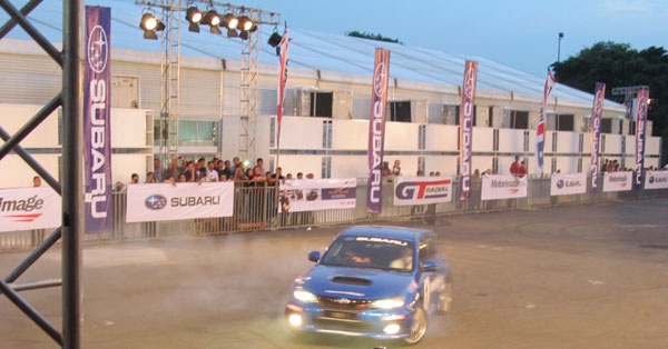 GT Radial Bring Back Rush Swift Stunt Show At IIMS 2014
