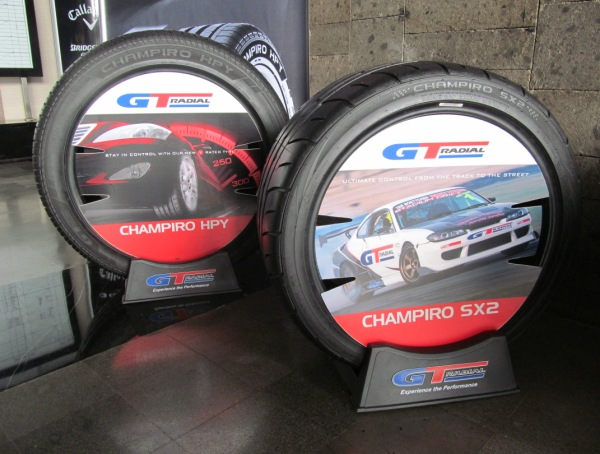 GT Radial Support the Mercedes Trophy 2014
