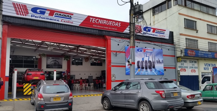 First GT Radial Performance Centre Launched In Colombia