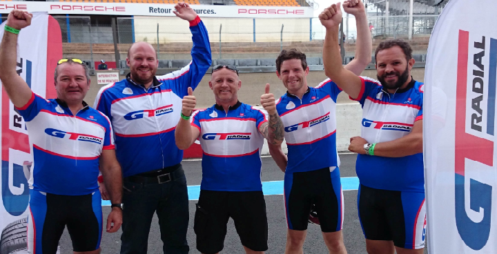 GT Radial team cycles 707,265m in 24 hours to raise over £1,000 for Marie Curie<br>