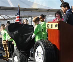 Giti Tire Breaks Ground in North America
