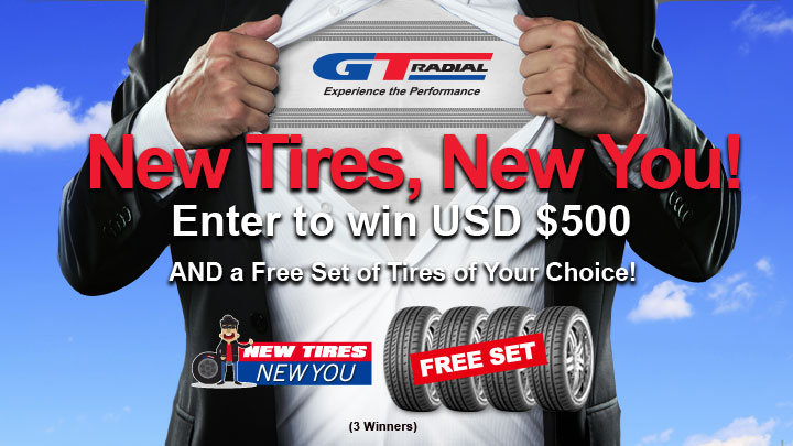 GT Radial Combines Tire Education & Fun with 'New Tires, New You' Campaign