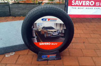GT RADIAL SAVERO SUV<br> The Newest Tire from the Best and the Most Complete 4x4/SUV Tire Producer in Indonesia