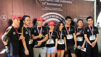 GT Radial supports Mercedes Benz Club Indonesia 10k Run