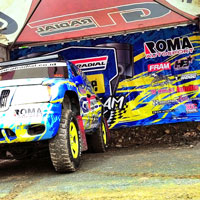 IXOR 2015 1st series:<br> Once Again Proved, GT Radial Savero Komodo Tire is Tough in All Weather<br>