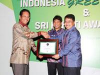 Indonesia Green Company and SRI-KEHATI Award 2014