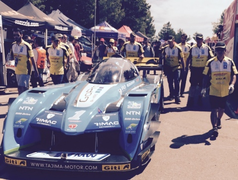 """Monster"" Tajima's Electric Vehicle Places 2nd Overall at Pikes Peak International Hill Climb on Giti Tires"