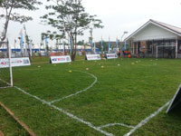 PT Gajah Tunggal Tbk Developed Children Friendly Open Public Space For People
