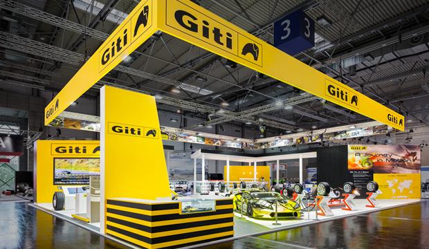 Giti Tire's Display at 2016 Reifen Essen Makes Major Impact