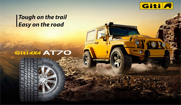All-Terrain Giti4x4 AT70 Drives Excitement in New Markets