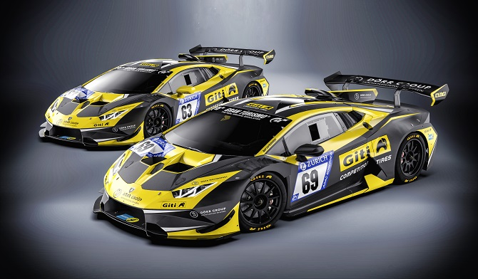 Giti Tire Revved Up For Upcoming 24 Hours Nürburgring Race with Two Upgraded Cars