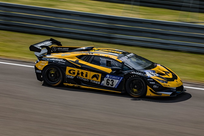 Giti Outlasts Extreme Track Conditions in Return to 24-Hour Nürburgring Race