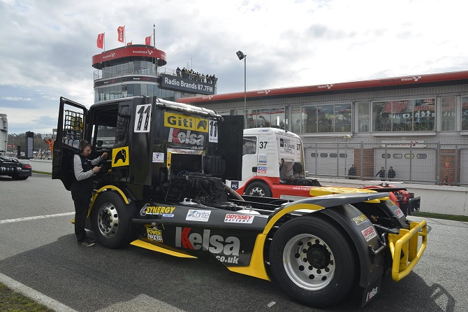 Giti Truck Tires Take on Top European Competition, including Grand-Prix at Nürburgring