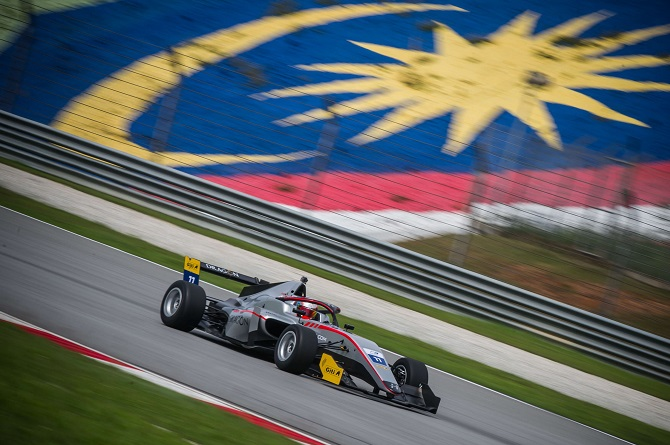 Formula 3 Asian Championship Premieres in Malaysia on Giti Tires