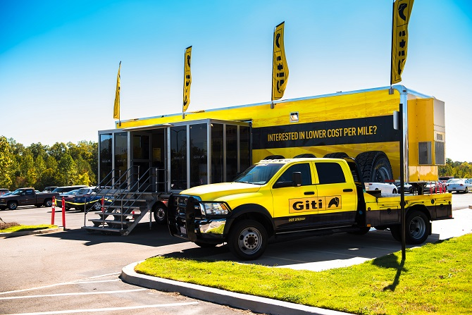 Giti Brand Commercial Truck Tires Being Introduced in North America