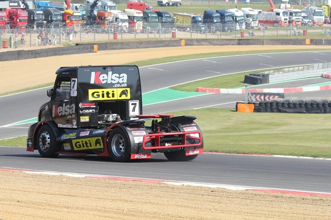 Giti's Third Year of Competition Truck Tire Racing Kicks Off in UK