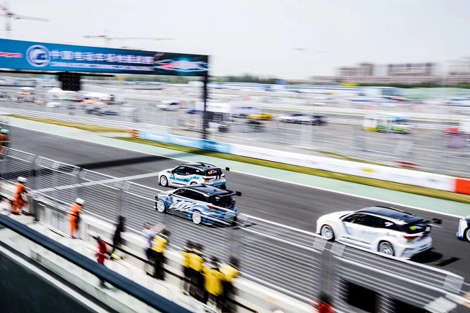 It's Electric! Giti Tires Shine in Electric Touring Car Challenge