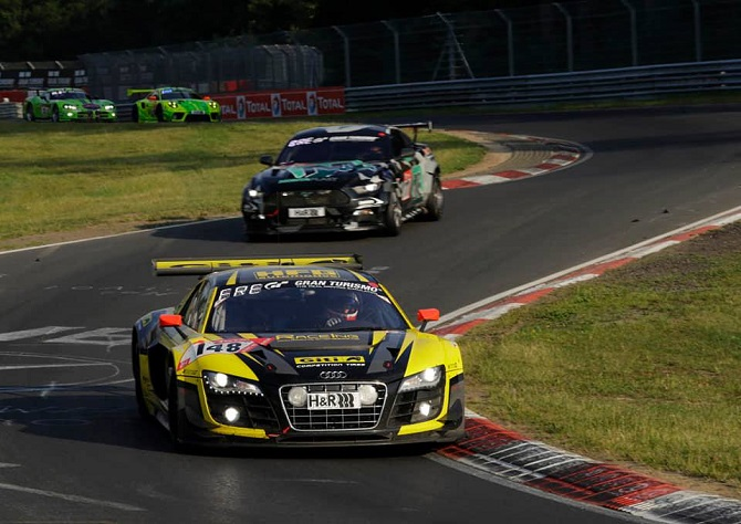 Giti's Audi R8 Duo Wins Class; All-Female Team Inspires in Superb 24 Hours Nürburgring Performance