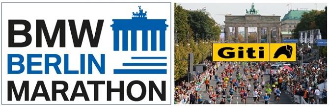 Giti patrocina la próxima y mundialmente famosa maratón de BMW Berlín 2019