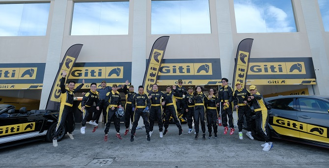El equipo de Giti y sus socios se reúnen en Filipinas para una experiencia de marca internacional