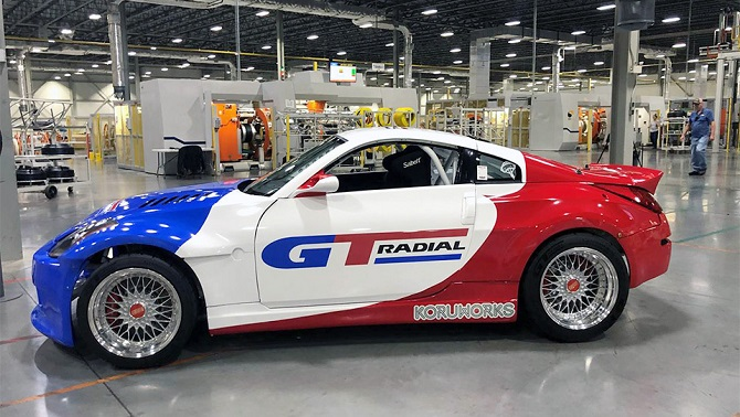 GT Radial Returns To Formula DRIFT in North America in 2020