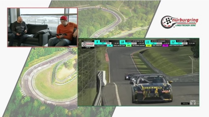 Giti Motorsports Makes E-Sports Debut at Digital Nürburgring Endurance Series